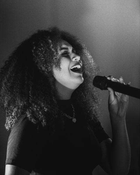 Photo of lady singing